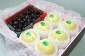 ♥((德記水果禮盒))♥紐西蘭空運黑櫻桃台灣新世紀梨綜合禮盒