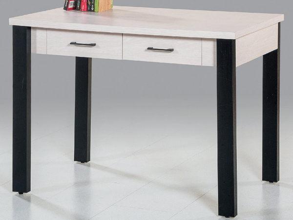書桌 電腦桌 PK-574-4 尼可拉白金絲木書桌 (不含其它產品) 【大眾家居舘】