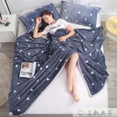加厚珊瑚絨空調沙發午睡小毯子