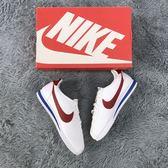 Nike Classic Cortez Leather 女 阿甘鞋 紅白藍807471-103