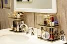 洗手間化妝品收納盒擺件置物架桌面梳妝臺化妝盒【君來佳選】