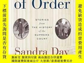 二手書博民逛書店Out罕見Of Order-發生故障的Y436638 Sandra Day O connor Random H