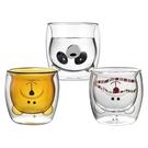 小熊造型雙層耐熱玻璃杯200ml(1入)...