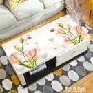 餐桌布 3D桌布茶幾墊軟PVC玻璃防水防燙防油免洗客廳長方形塑料桌墊厚【果果新品】