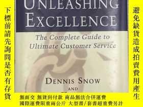 二手書博民逛書店Unleashing罕見Excellence: The Comp