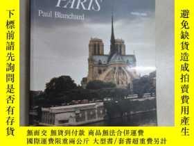 二手書博民逛書店英文書罕見HISTORIC PARIS PAUL BLANCHA