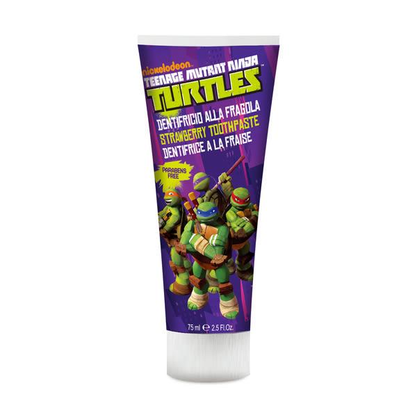 【義大利原裝進口】Ninja Turtles 含氟牙膏- (草莓) -75ml