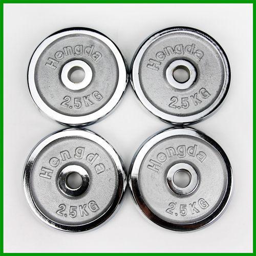 2.5公斤槓片(四片價)(2.2~2.5kg/槓鈴片/啞鈴片/免運費)