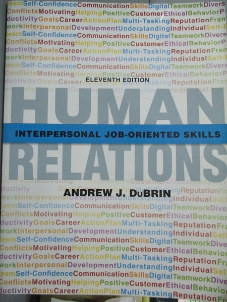 【書寶二手書T7/大學商學_J31】Human Relations: Interpersonal, Job-Orient