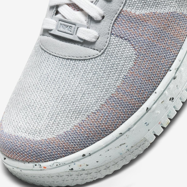 Nike 休閒鞋 AF1 Crater Flyknit 彩色 白 Air Force 1 男鞋 編織鞋面 再生材質材質 環保理念 【ACS】 DC4831-002
