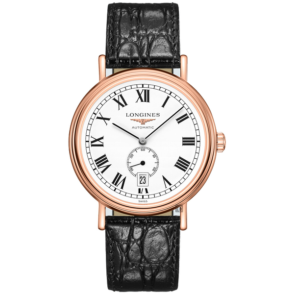 LONGINES浪琴 Presence 小秒針機械錶-40mm L49051112