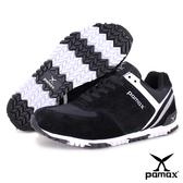 PAMAX帕瑪斯極品: 獨家首創【專利止滑鞋底】兼具運動、休閒、慢跑鞋功能-PP369-BWOO-男女