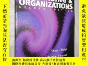 二手書博民逛書店Organizing罕見& Organizations seco