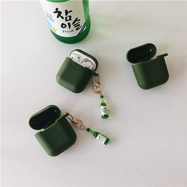 Airpods Pro 專用 1/2代 台灣發貨 [ 韓國燒酒真露 ] 藍芽耳機保護套 蘋果無線耳機保護