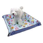 Fancy Pets 百變造型寵物睡墊(MIX水藍17') L