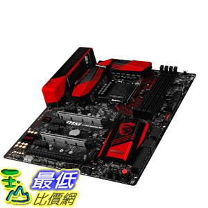 [美國直購] MSI 主機板 Enthuastic Gaming Intel Z170A LGA 1151 DDR4 USB 3.1 ATX Motherboard (Z170A Gaming M7)