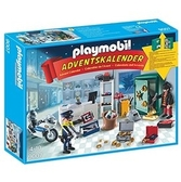 Playmobil 摩比 9007 警察降臨曆