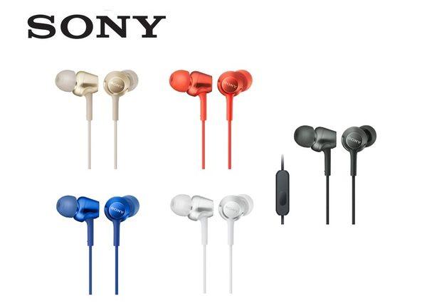 【聖影數位】SONY MDR-EX255AP  入耳式耳機 簡單的線控麥克風 全面支援智慧型手機【公司貨】