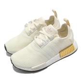 【海外限定】adidas 休閒鞋 NMD_R1 W 白 黃 金 女鞋 Boost 中底設計 運動鞋 【ACS】 EE5174