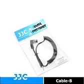 【南紡購物中心】JJC槍把HR相機連接線Cable-B相容MC-30