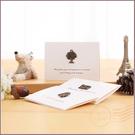 復古金屬迷你卡片萬用卡生日卡-4款可挑(附信封) 祝福卡 生日卡 教師節 情人節 感謝卡 禮物卡片