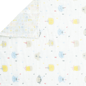 【奇哥】動物派對六層紗冬夏兩用被 105×135cm