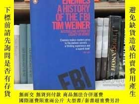 二手書博民逛書店Enemies:罕見A History of the FBIY2