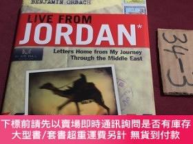 二手書博民逛書店live罕見from jordan(letters home from my journey through th