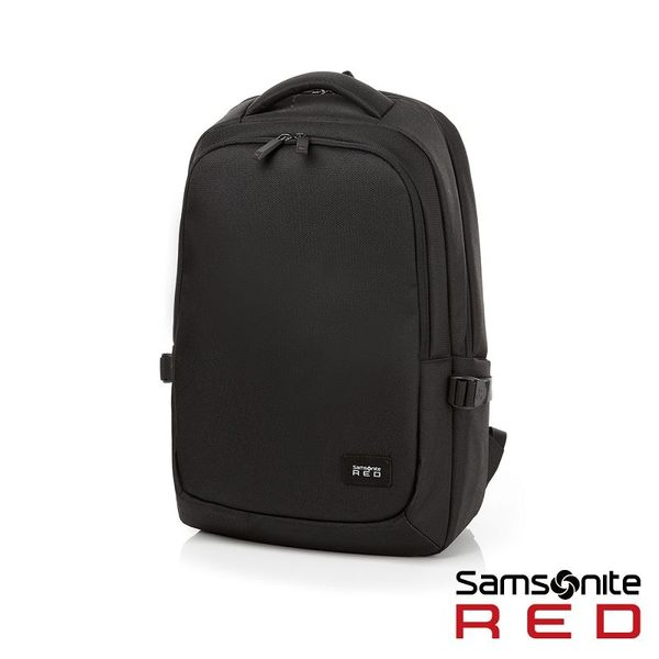 Samsonite RED  TEDWIN  休閒時尚中性筆電後背包 14 (黑)