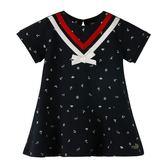 『小鱷魚童裝』海軍風洋裝(02號~08號)533388
