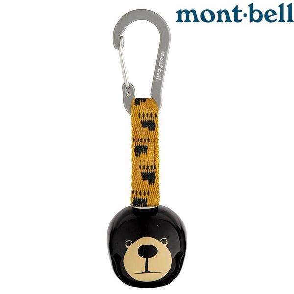 『VENUM旗艦店』Mont-bell Trekking Bell Round Monta Bear 熊鈴鉤環 1124802 BK 黑