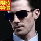 太陽眼鏡 偏光墨鏡(單件)-炫彩造型反光鏡片方框時尚男女配件5色67f5【巴黎精品】