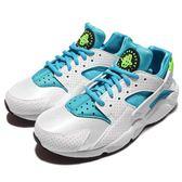 【五折特賣】 Nike 武士鞋 Wmns Air Huarache Run 氣墊 路跑 運動 休閒 白藍綠 女鞋【PUMP306】 634835-109