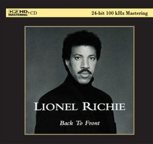【停看聽音響唱片】【K2HD】LIONEL RICHIE:Back To Front