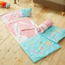 兒童睡袋加大款   100%純棉鋪棉涼被...