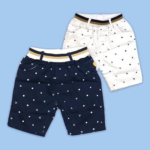 【錢豪童裝童鞋】海錨平織五分褲(85~120cm)