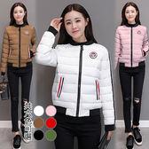 【韓國KW】(現貨) XL~3XL俐落百搭保暖羽絨棉外套