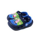 粉紅豬小妹 Peppa Pig 花園鞋 涼鞋 童鞋 深藍色 中童 PG0021 no886