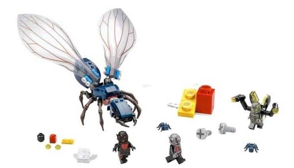 LEGO 樂高 SUPER HERO 超級英雄系列 Ant-Man Final Battle 蟻人 76039