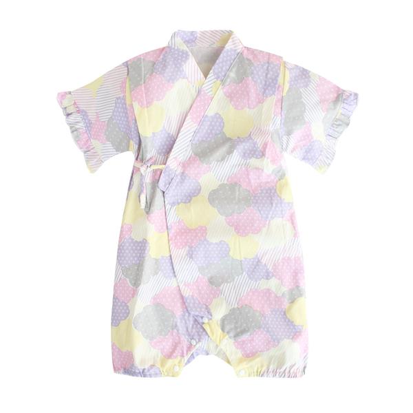 Baby童衣 日式浴衣 和服 造型服 連身衣 三角和服 四角和服 男寶寶 女寶寶 爬服 哈衣 42122