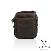 【VOVA】羅馬系列直式斜背包-大(懷舊棕)VA115S06BR