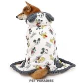 【PET PARADISE 寵物精品】DISNEY 2020新款 米奇耳朵造型懶人毯(SM) 寵物衣服 秋冬新品