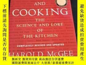 二手書博民逛書店On罕見Food and Cooking: The Science and Lore Of The Kitchen