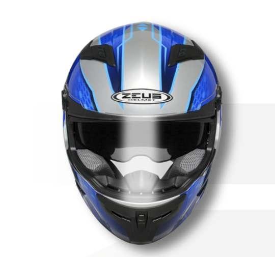 ZEUS瑞獅安全帽,ZS-813,AN19/銀藍