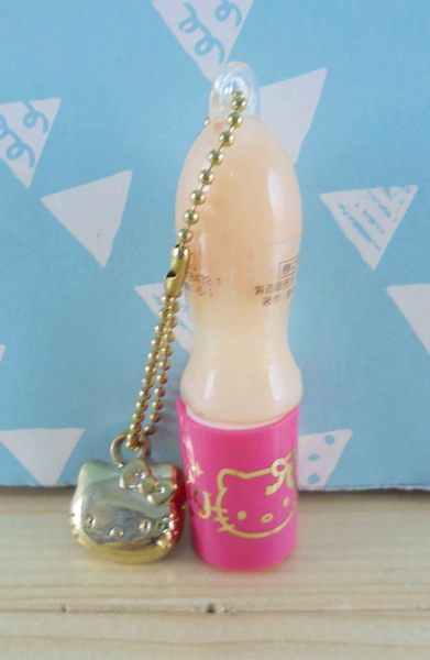【震撼精品百貨】Hello Kitty 凱蒂貓~KITTY鎖圈唇蜜-粉