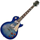 【敦煌樂器】Epiphone LP STD PlusTop Pro TL 電吉他 藍漸層色