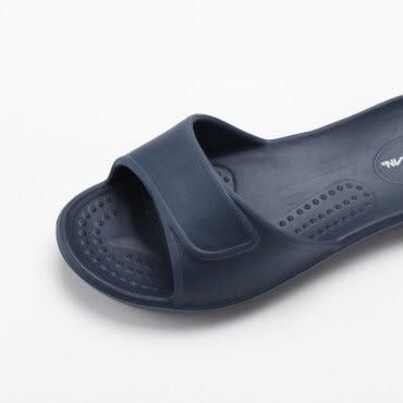 HOLA EVA柔軟兒童室內拖鞋藍-20號