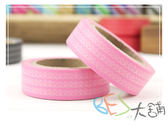 紙膠帶-線圈條紋和紙膠帶-粉紅色