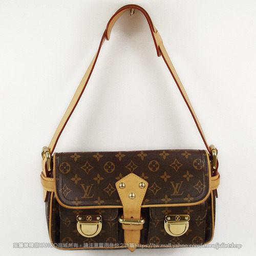 茱麗葉精品 二手名牌 【9.5成新】Louis Vuitton M40027 鄔瑪舒曼側背包