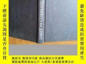 二手書博民逛書店UNFIT罕見FOR COMMANDY9947 JOHN E.O